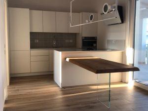 Cucina in Laccato bianco opaco. GBArreda
