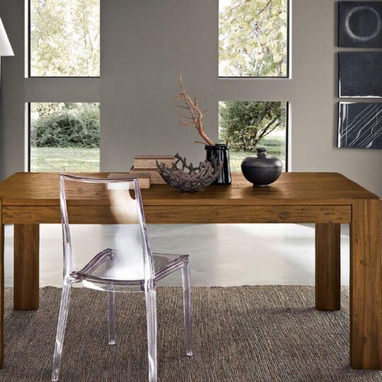 Tavolo in legno Massello Walnut 160x90