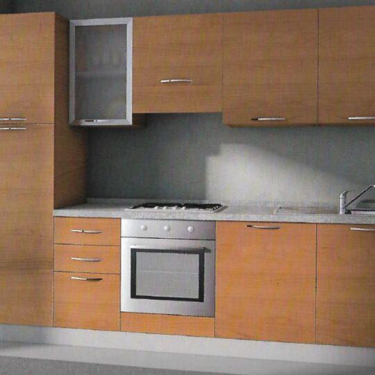 Cucina in laminato da 285 cm